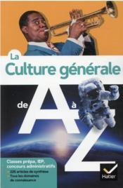 La culture générale de A à Z - Couverture - Format classique