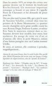 Escaliers De Montmartre T.1 - 4ème de couverture - Format classique