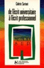 De Ecrit Univ A Ecrit Pro - Intérieur - Format classique