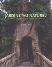 Jardins Au Naturel - Couverture - Format classique