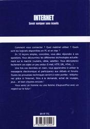 Internet En Dix Lecons - 4ème de couverture - Format classique