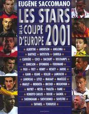 Les stars de la coupe d'Europe 2001. Albertini, Anderson, Angloma... - Intérieur - Format classique