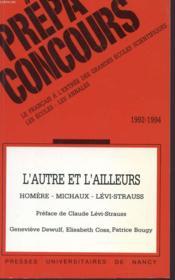 L'Autre Et L'Ailleurs, Homere (L'Odyssee). Homere, Michaux, Levi-Stra Uss - Couverture - Format classique