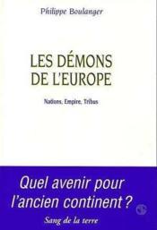 Les demons de l'europe - Couverture - Format classique
