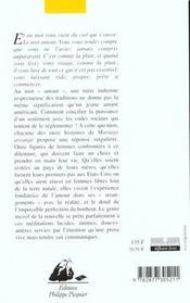 Mariage Arrange - 4ème de couverture - Format classique