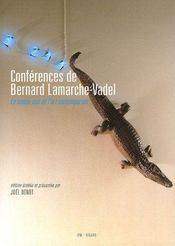 Conférences de Bernard Lamarche-Vadel - Intérieur - Format classique