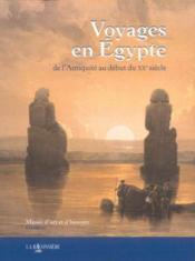 Voyages en egypte - Couverture - Format classique
