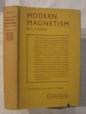 Modern magnetism - Couverture - Format classique