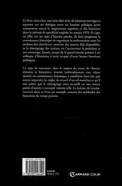 Les années Giscard ; 1978-1981, les institutions à l'épreuve ? - 4ème de couverture - Format classique