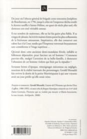Joséphine, l'obsession de Napoléon - 4ème de couverture - Format classique