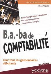 telecharger B.a. – ba de comptabilite (3e edition) livre PDF en ligne gratuit