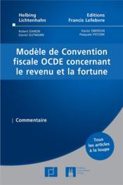 Convention OCDE - Couverture - Format classique