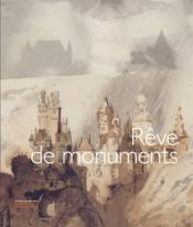 Rêves de monuments - Couverture - Format classique