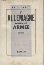 Lallemagne Toujours Armee. - Couverture - Format classique