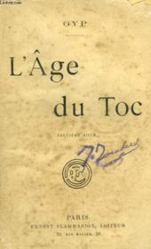 L'Age Du Toc. - Couverture - Format classique