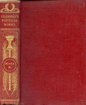 The Poetical Works Of S. T. Coleridge - Couverture - Format classique