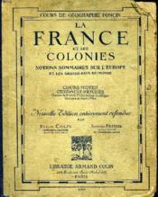 Cours De Geographie - La France Et Ses Colonies - Couverture - Format classique