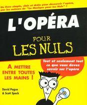L'Opera Pour Les Nuls - Intérieur - Format classique