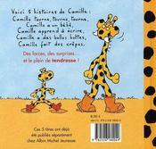 Les plus belles histoires de Camille - 4ème de couverture - Format classique