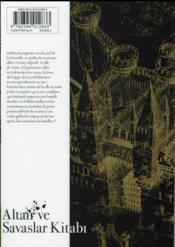 Altaïr T.11 - 4ème de couverture - Format classique