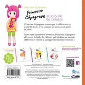 Princesse Cépagrave et la bulle de Céleste - 4ème de couverture - Format classique