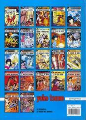 Yoko Tsuno T.12 ; la proie et l'ombre - 4ème de couverture - Format classique
