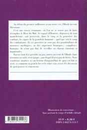 L'Iliade, de Homère ; l'invention des héros - 4ème de couverture - Format classique