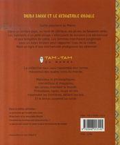 Dhiba Sarrr et le redoutable Rhoule - 4ème de couverture - Format classique
