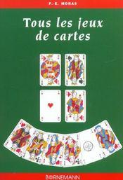 Tous les jeux de cartes - Intérieur - Format classique