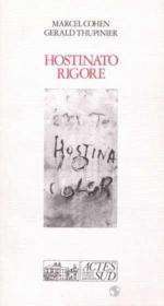 Hostinato rigore - Couverture - Format classique