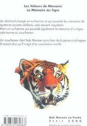 Le Tigre T.1 - 4ème de couverture - Format classique