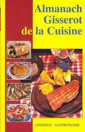 Almanach gisserot de la cuisine - Intérieur - Format classique