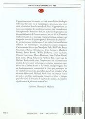 Nouveaux Medias Dans L'Art (Les) - 4ème de couverture - Format classique