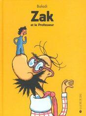 Zak Et Le Professeur - Intérieur - Format classique