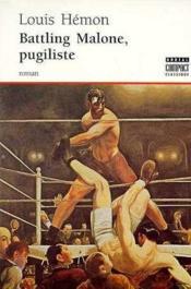 Battling Malone Pugiliste - Couverture - Format classique