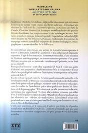 Autofiction et dévoilement de soi - 4ème de couverture - Format classique