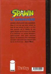 Spawn t.4 ; la surenchère - 4ème de couverture - Format classique