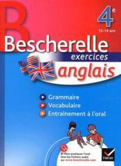 Bescherelle ; anglais ; 4ème ; cahier - Couverture - Format classique