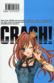 Crash t.7 - 4ème de couverture - Format classique