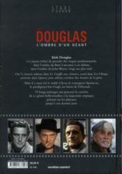 Kirk Douglas ; l'ombre d'un géant - 4ème de couverture - Format classique