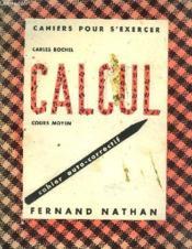 Cahier Pour S'Exercer - Calcul - Couverture - Format classique