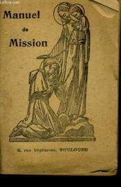 Manuel De Mission - Couverture - Format classique