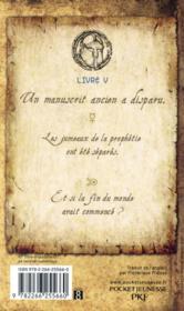 Les secrets de l'immortel Nicolas Flamel t.5 ; le traître - 4ème de couverture - Format classique