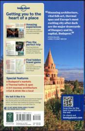 Budapest & Hungary (8e édition) - 4ème de couverture - Format classique