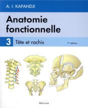 Anatomie fonctionnelle. t3, 7e ed. - Couverture - Format classique