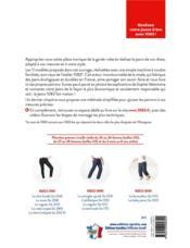 L'atelier du jean ; 11 modèles homme, femme et enfant à coudre - 4ème de couverture - Format classique