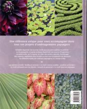 Les motifs pour le paysagiste ; aménagement créatif de jardin - 4ème de couverture - Format classique