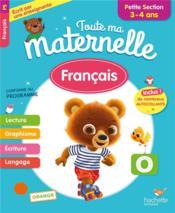 Toute ma maternelle ; français ; PS - Couverture - Format classique
