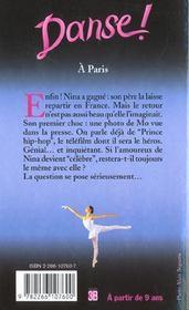 Danse ! T.17 ; à Paris - 4ème de couverture - Format classique