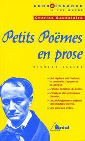 Petits poèmes en prose, de Charles Baudelaire - Intérieur - Format classique